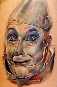 Wizard of Oz Quote Tattoos | Tin man (wizard of Oz) – Tattoo Picture at CheckoutMyInk.com