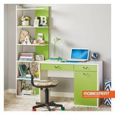 Asigură-i tot ce are nevoie pentru rezultate de nota 10. #birou #scaun #copii Kids Bunk Beds, Trendy Home, Office Desk, Corner Desk, Kids Room, David, Furniture, Home Decor, Home Study Rooms