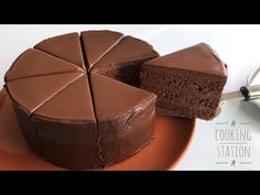 SUPER AMAZING MOIST CHOCOLATE CAKE RECIPE   เค้กช็อกโกแลตหน้านิ่ม สูตรหน้านิ่ม วิธีราดหน้านิ่มง่ายๆ - YouTube Best Sandwich Recipes, Easy Cake Recipes, Brownie Recipes, Sweet Recipes, Dessert Recipes, Tea Cakes, Cupcake Cakes, Fruit Birthday Cake, Greek Sweets