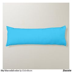 Sky blue solid color body pillow Navy Blue Pillows, Blue Cushions, Blue Throw Pillows, Blue Living Room Decor, Blue Bodies, Decorative Throw Pillows, Vibrant Colors, Royal Blue, Sky