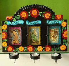 Tin Shrine  Mexican Folk Art from miralopv.com