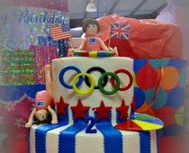 Olympics themed party!
