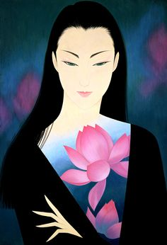 Kai Fine Art is an art website, shows painting and illustration works all over the world. Art Geisha, Pop Art, Amakusa, Art Asiatique, Kumamoto, Art Et Illustration, Art Illustrations, Art Japonais, Art Deco Posters