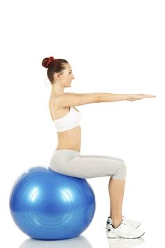 """Abdo Exercice : Illustration Description Levez un pied, puis alternez. 30 sec x 3 de chaque côté """"The difference between the impossible and the possible lies in a person's determination"""" ! Yoga Gym, Yoga Fitness, Pilates Workout, Gym Workouts, Fitness Tracker, Exercices Swiss Ball, Swiss Ball Exercises, Cellulite Exercises, Cellulite Remedies"""