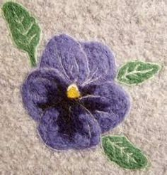 needle felting. & other info about crocheting & felting.