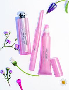 помады и блески Весенняя коллекция макияжа Диор 2016 - Dior Glowing Gardens Makeup Collection Spring 2016