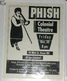 Phish Keene 90 - 1st