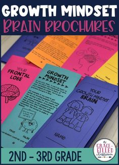 If you are looking for growth mindset activities that help students understand how their brain works, then these Growth Mindset Brain Brochures are for you! Your students will read all about different parts of the brain and how their brain has malleable. #growthmindset #growthmindsetactivities #agracefilledclassroom