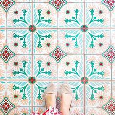 Amazing pic by tagging _____________________________________________ Boho Pattern, Textile Pattern Design, Textile Patterns, Print Patterns, Textiles, Scandinavian Pattern, Design Floral, House Tiles, Tiles Texture