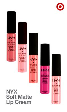 NYX Matte Lip Cream is the best of both worlds—a moisturizing matte finish in a silky smooth formula.