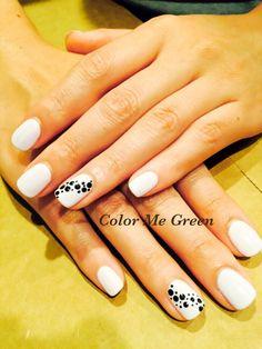 Nailart # spots # white # Zoya# | Yelp