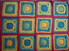 Baby blanket detail by johengen, via Flickr
