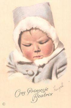 Baby Prinses Beatrix