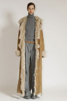 Long sheepskin coat, my dream....