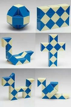 Cube and Rubik's Snake Twist