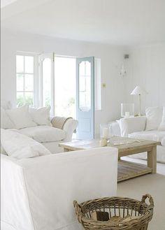 #White #livingroom