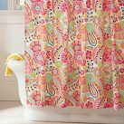 66 Bright And Colorful Shower Curtain Designs Ideas - About-Ruth Cute Shower Curtains, Kitchen Curtains, Paisley Shower Curtain, Colorful Shower Curtain, Cortina Box, Curtains Pictures, Cream Curtains, White Shower, Finding Nemo