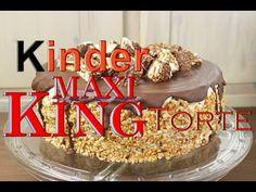 Kinder MAXI KING Torte Backen - Leckere TORTEN Selber Machen - Karamell Einfach & Schnell Zubereiten - YouTube