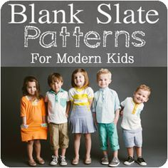 Girl Charlee Fabrics: Introducing Blank Slate Sewing Patterns