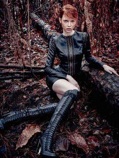 Harper's Bazaar Brazil April 2015 | Dani Witt by Nicole Heiniger