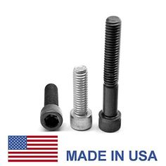 M20 x 2.50 x 80 Coarse Thread Socket Head Cap Screw - USA Alloy Steel Plain Finish (No Plating) Pk 10
