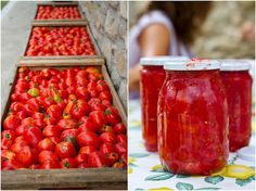 La Tavola Marche: How to Jar Tomatoes in 6 Simple Steps | Le Marche and Food | Scoop.it