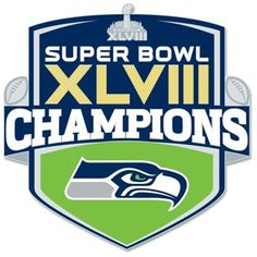 Seattle Seahawks Super Bowl XLVIII Champions Shield Collector Pin