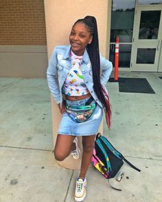 Excellent Absolutely Free Back to School-Outfit black girl Suggestions, Cute Swag Outfits, Dope Outfits, Girly Outfits, Pretty Outfits, Fashion Outfits, Urban Outfits, Classy Outfits, Casual Outfits, Teenage Girl Outfits