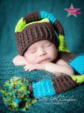 PRINCESS-DREAMS Fotoshooting Baby Junge Bommelmütze Mütze Newborn Fotografie