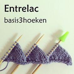 Entrelac - Basis3hoeken