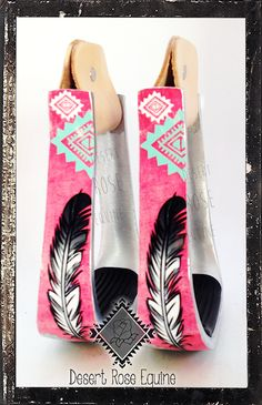 Feather collection stirrups by Desert Rose Equine www.desertroseequine.com www.facebook.com/desertrosequine