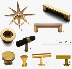 Mimosa Lane: Best Brass Pulls (Part II)