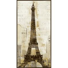Vintage Paris Wall Art