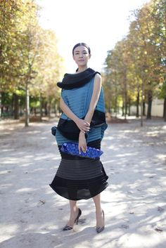 streets of Paris fashion week