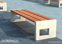 54 trendy Ideas for urban landscape design street furniture concrete bench
