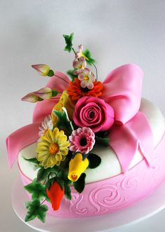 Beautiful birthday cake. Today, December 27th. Happy birthday mom, you are forever in my heart.