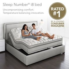 #SleepNumber i8 #bed offers our latest innovations with an exclusive layer for enhanced comfort to areas of your body that need it most. And because it's temperature balancing, it keeps you from sleeping too warm or too cool.