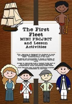 This product contains a mini project which is designed for students to work on independent research to create a more in depth understanding of the topic. Students are encourages to chose a variety of tasks that suit their own individual learning style. Federation Of Australia, First Fleet, School Lessons, Teaching Resources, Worksheets, Environment, Youth, Students, Classroom