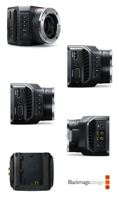 The Blackmagic Micro Studio Camera 4K is an incredibly tiny Ultra HD studio camera that's perfectly designed for live production. You get a full Ultra HD resolution camera that can be used in HD and Ultra HD video formats and it can be fully controlled from the switcher via the SDI control protocol. #nabshow