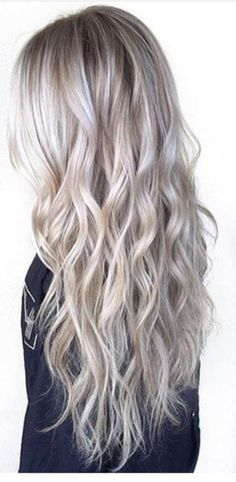 Silver Hair Color 291