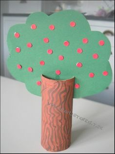 höstpyssel träd
