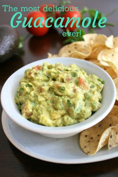 The most delicious Guacamole EVER! | The Life Jolie