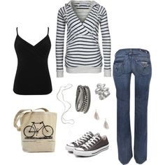 """""""Love the Hoodie, great outfit for any day"""" by hayleejade3 on Polyvore"""