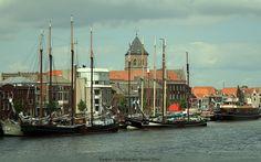 river IJssel, Kampen, Netherlands