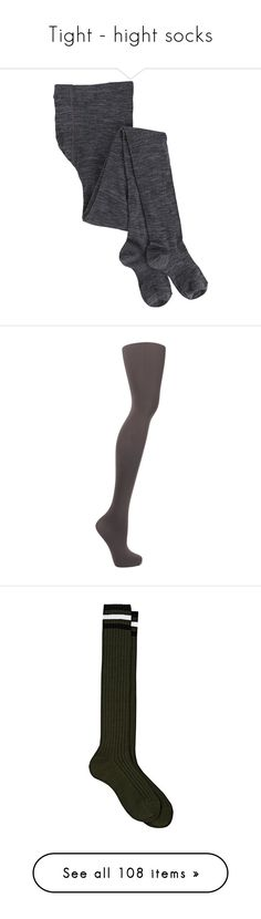 """""""Tight - hight socks"""" by nisya93 ❤ liked on Polyvore featuring intimates, hosiery, tights, elastic stocking, smartwool tights, anthracite, opaque stockings, falke stockings, falke tights and falke"""