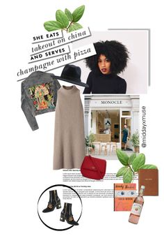 """the way she does it."" by middayxmuse ❤ liked on Polyvore featuring Kate Spade, GALA, Element, Gucci, Monica Rich Kosann, STELLA McCARTNEY and Burberry"