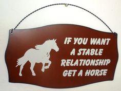 hehe, horse humor xD Kinda accurate? haha