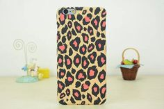 leopard iphone case in pc for iphone 6[inch4.7], iphone6[inch5.5] and iphone5s/5