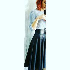 #skirt #handmade #gonnamezzaruota