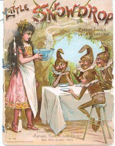 """LITTLE SNOWDROP"", Raphael Tuck & Sons Ltd."